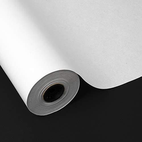 8cmx4mm YOFASEN Papel Kraft Twist Ties 1000PCS Lazos de torcedura Decorativos Alambre para Precintar Bolsas de Dulces Galleta Blanco