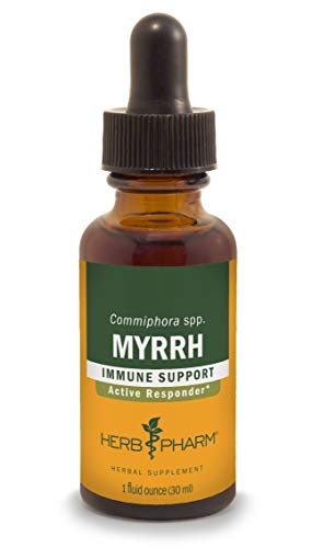 Herb Pharm Myrrh Liquid Extract for Immune System Support – 1 Ounce (DMYRR01)