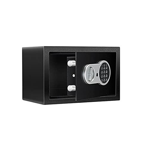 GLXYTT Caja Fuerte De Seguridad con Teclado ElectróNico Programable para Oficina En Casa, Hotel, Negocios, JoyeríA, Pistola, Uso En Efectivo, Almacenamiento,Gris,D