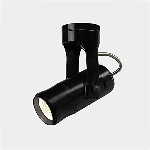 - LED Surface Mounted Spotlights Shine Spotlights TV Crafts Achtergrond van het bedrijf Porch Plafond Spotlights (Kleur: Zwart (5W wit))