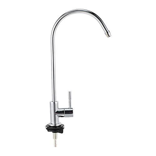 Haudang 1/4 Zoll Chrom Trink Wasser Filter Wasserhahn Umkehrosmose Waschbecken KüChen Armatur