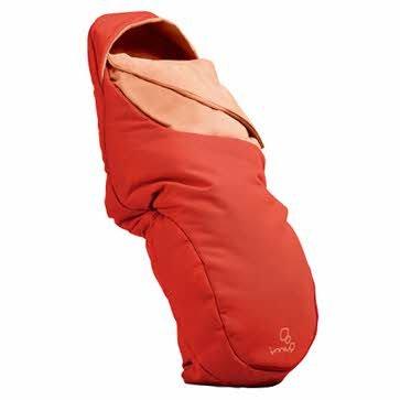 Sparkling Quinny Fußsack in rot Revolution–Cleva Edition ChildSAFE Door Stopz Bundle