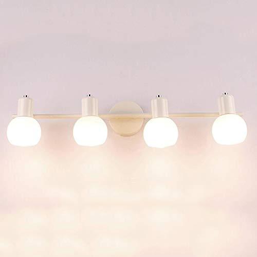 SXFYWYM Moderne retro spiegel-lampbloesems badathroom Light minimalistische wandlampen voor de studie spiegelkast verlichting