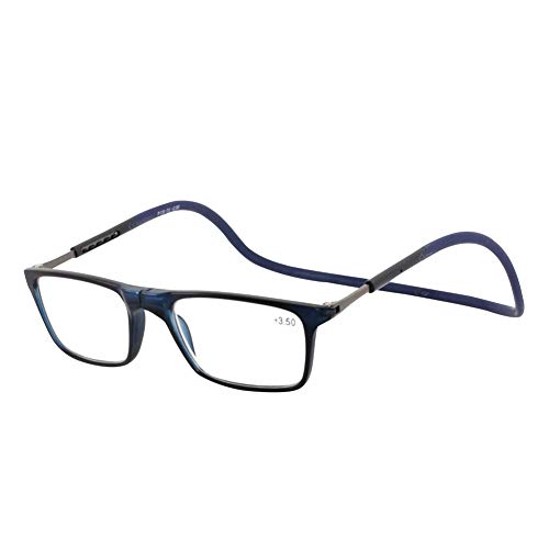 Dgaddcd Herren Lesebrillen Anti Blaulicht Computer Lesebrille Damen Mode Halter Blaulichtfilter Brille Magnet Zusammenklappbar Gaming Brillen