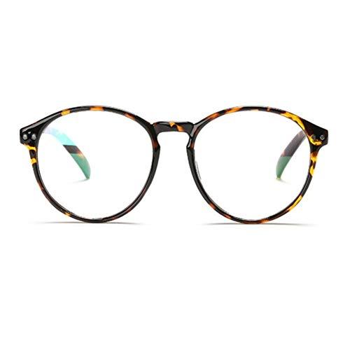 YUNCAT Retro Anteojos Lente Claro Gafas Para Mujer y Hombre Montura para Nerd Gafas