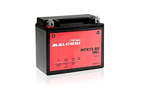 Malossi - Batería de gel activada 12 V 10 Ah MTX12-BS XCITING 250 300 500 People S 250 300 YUP 250