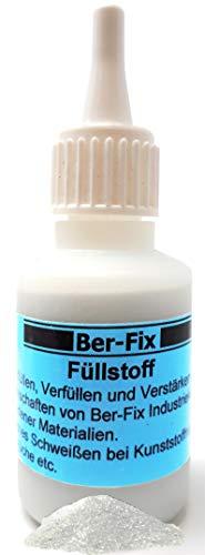 Ber-Fix 60g Füllstoff Granulat -Weiss- für Industriekleber und Sekundenkleber für die Schweissnaht