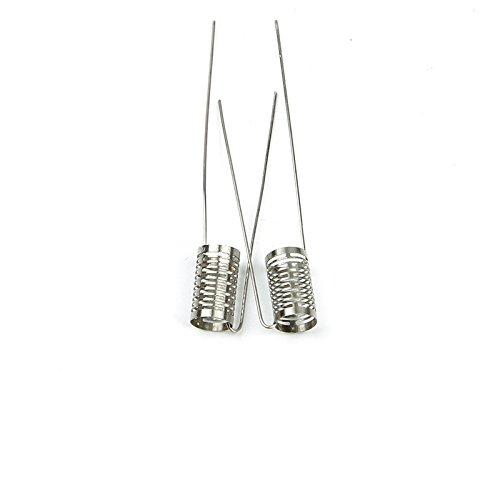 DIY-24H - 10x Notch Coils Wire Fertigwicklung Edelstahl 316L 0.2 Ohm Selbstwickler RDA RBA RTA