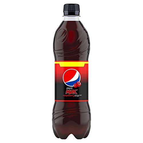Pepsi Max Himbeere 500 ml Flaschen, 12 Stück