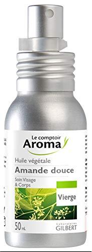 Le Comptoir Aroma Huile de Massage Amande Douce Vierge Flacon-Pompe 50 ml