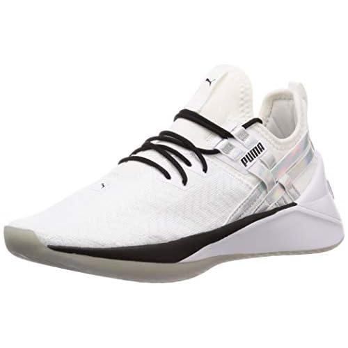 Puma Jaab XT Iridescent TZ Wn's, Scarpe da Fitness Donna, Bianco White Black, 36 EU