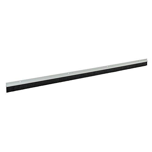 FIXMAN 456532 Garagentor-Bürstendichtung, 25-mm-Borsten 2134 mm, weiß