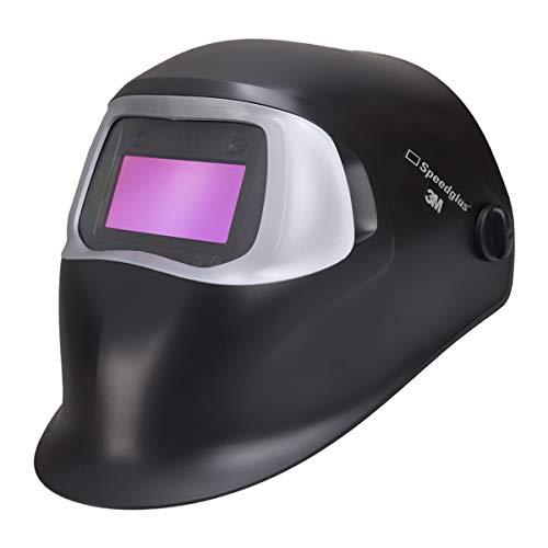3M Speedglas 100V Vollautomatik Schweißhelm Schweißermaske Schweißschild Optische Klasse 1/2/2/3 vollautomatisch abdunkelnd mit einstellbaren Parametern