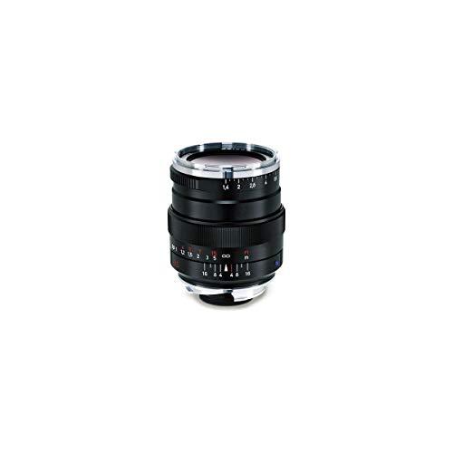 Zeiss Ikon Distagon T* ZM 1.4/35 Weitwinkelobjektiv für Leica ZM-Mount Kameras, Schwarz, Modell: 00000-2112-846