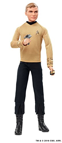 Barbie Mattel DGW69 Star Trek 25th Anniversary Kirk, Puppen