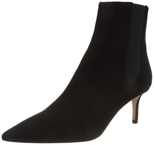 HUGO Damen Ines Ch.Bootie 60-S Mode-Stiefel, Schwarz (Black 1), 41.5 EU