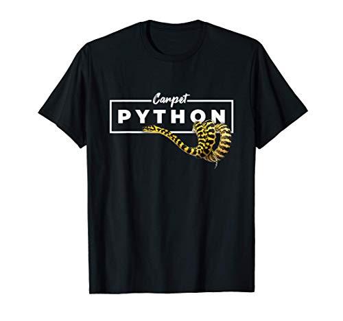 Tapis Python Géométrique Reptile Propriétaire T-Shirt
