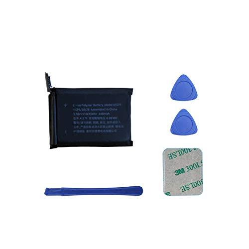 Neuer Ersatzakku A1579 246mAh 3.78V 0.93Whr Kompatibel mit Apple Watch 1st Generation 42mm A1554 with Tools