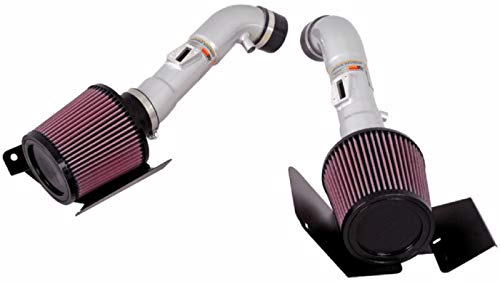 K&N Cold Air Intake Kit: High Performance, Guaranteed to Increase Horsepower: 2007-2008 NISSAN (350Z) 69-7071TS