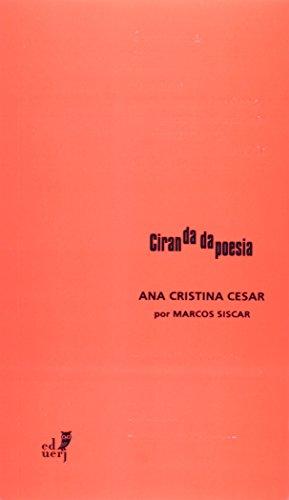 Ana Cristina Cesar por Marcos Siscar