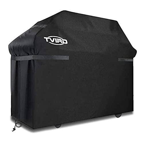 Tvird Copertura Barbecue Impermeabile ,Telo Copri Barbecue Protettivo per BBQ 300D Tessuto Oxford Cover per Barbecue Resistente Impermeabile/Anti Pioggia/Polvere/ Sole/Neve 145 * 61 * 117cm