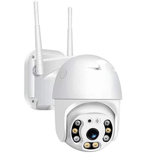 Dome IP Camera, Draadloze Wifi geluid alarm mobiele afstandsbediening bekijken Automatische tracking Waterdichte netwerk camera surveillance beveiliging nachtzicht camera
