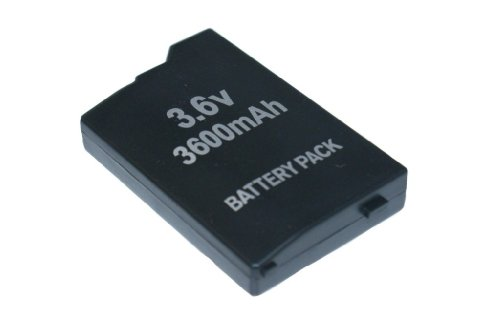 Akku 3600MAH Battery Pack für PSP Classic FAT 1000 & 1004 (NEU) - PSP