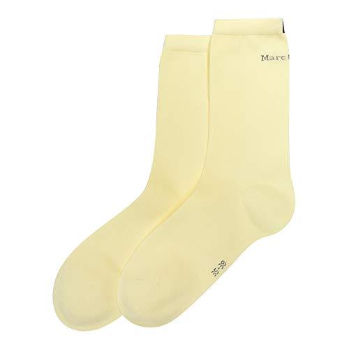 Marc O'Polo Damen Socken 2er Pack Doppelpack - 172831, Größe Damen:35/38, Farbe:vanille