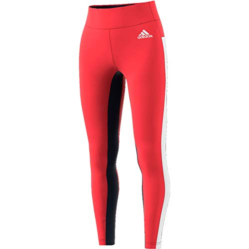 adidas W Sp Tight Ver Damen Leggings XS rot-glo/weiß