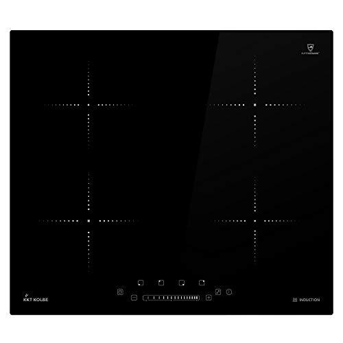 KKT KOLBE Induktionskochfeld 59cm / Autark / 6kW / 15 Stufen / 4 Zonen/Rahmenlos/Touch/LED-Anzeige / KF5900IND