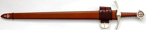 Schwert Accolade Das Ritterschlagschwert des Templerordens Kampfschwert Scharf von Silvio Overlach GmbH
