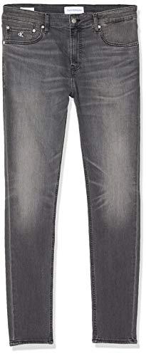 Calvin Klein Jeans Herren Super Skinny Jeans, Schwarz (DA057 Black 1BY), W32/L34 (Herstellergröße: 3432)
