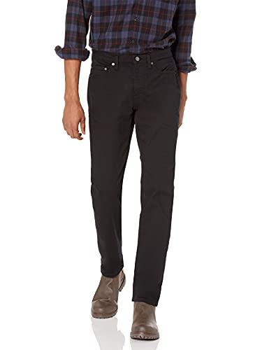 Amazon Essentials Herren Dehnbare Slim Fit-Jeans, Schwarz (Black), W38/L32