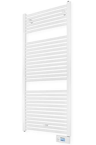 Orbegozo THA 465 - Toallero eléctrico digital con fluido térmico, 750 W, IP 24, programable, pantalla digital LCD, formato compacto