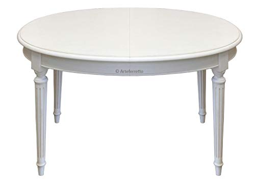 Arteferretto Table Ovale Extensible Style Louis XVI