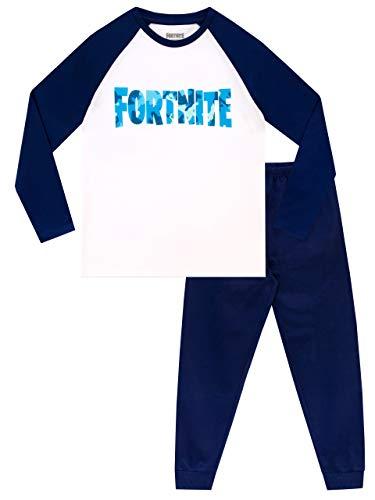 Fortnite Boys Pajamas Blue 8