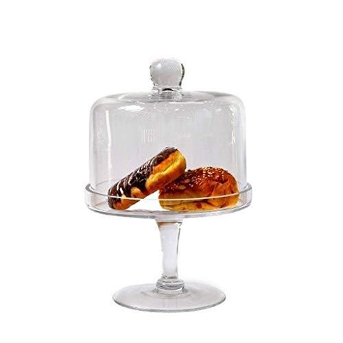 Haushaltsdienstprogramm Premium Dessert Table, Brot Falafel Tray Pie Donuts mit Käse Domed Tortenständer Glass Candy Jar Set Chip \U0026 Amp; Dip Server 15/20 / 24Cm, lsxysp, 20 * 20 * 30CM, 20 *