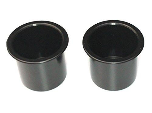 JSP Manufacturing Plastic 2 7/8 Black Drop in Beverage Drink Holder Plastic Multipack Wholesale Bulk Listing Poker (2)