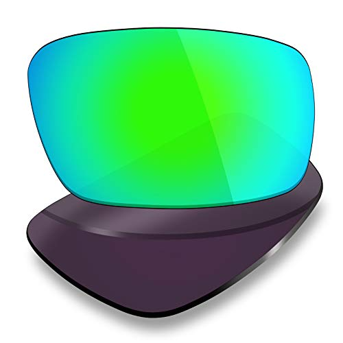 Mryok Polarized Replacement Lenses for Oakley Crankshaft - Emerald Green