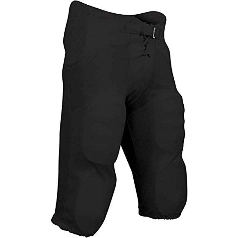 CHAMPRO Integrated Pant with Built-in Pads; L; Black; Adult