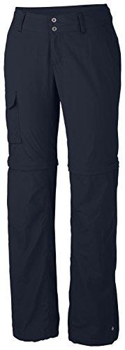 Columbia -Silver Ridge - Convertible Pantalon zip - Femme - Bleu (Abysse) - FR: 44 (Taille Fabricant: 12/S)
