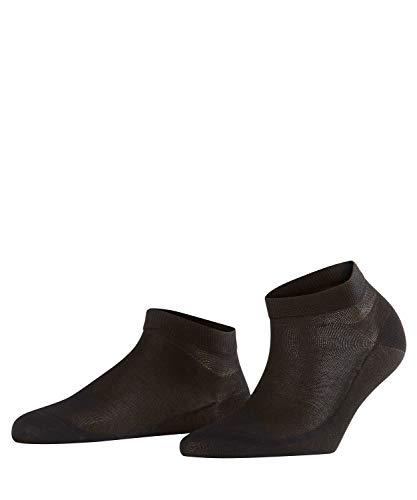 FALKE Damen Sneakersocken Cotton Delight - Baumwollmischung, 1 Paar, Schwarz (Black 3009), Größe: 37-38