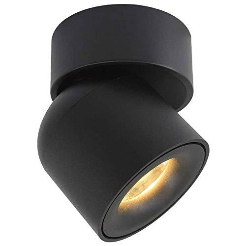 TRPYA LED wandlamp spotlight 3 warm dimbaar minimalistisch wit zwart Noordse stijl natuurlijke toepassingen bijook van het ministerie Fieren [energieklasse A ++]