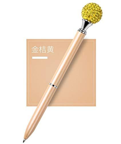 cute100% Bolígrafo de Diamante de Color Puro Bolígrafo de Regalo de Metal Bolígrafo de Cristal Bolígrafo Publicitario Bolígrafo con Personalidad para Estudiantes