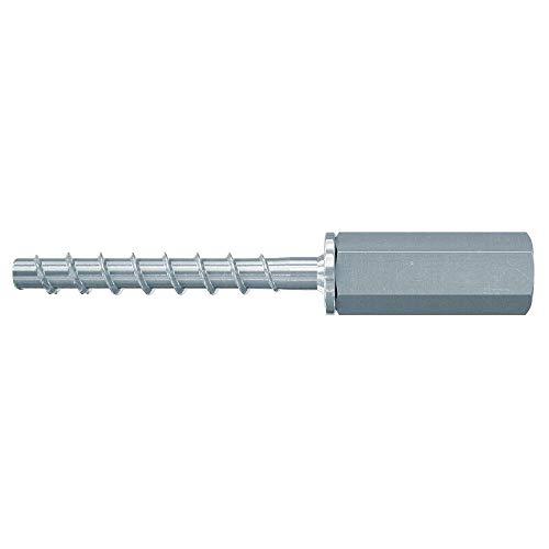 Fischer UltraCut FBS II - Tornillo de hormigón (6 x 55 mm, M8/M10, 100 unidades), tornillo con rosca interior para fijación en los ámbitos sanitarios, calefacción y clima.