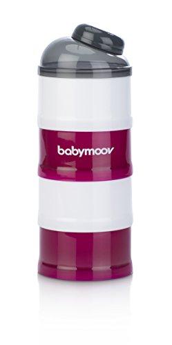 Babymoov Milchpulver-Portionierer cherry, 4 Fächer