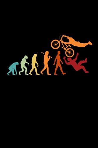 BMX Ciclisti Bici Stunt Bicicletta MTB Taccuino: Bici Taccuino per MTB e BMX Ciclisti - Quaderno - 120 pagine a righe per note, appuntamenti o come ...   ca. DINA5   Regalo divertente per Ciclisti.