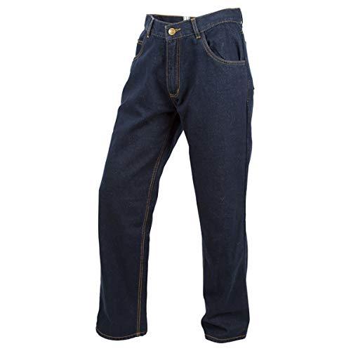 Scorpion EXO Covert Jeans Men's Reinforced Motorcycle Pants (Blue, Size 36)
