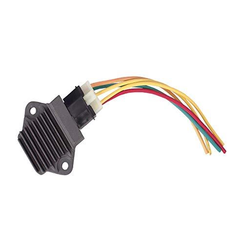 WDGXZM Gleichrichterspannungsregler-Ladegerät mit Stecker Motorrad,Für Honda CBR 250 NSR 250 CB-1 VFR 400 RVF 400 NC 35 NC 30 CB 400 Lineplusrectifier
