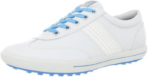 Ecco 2013 Street Damen - Golfschuhe Weiß/Türkis EU 37